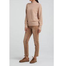 Yaya Yaya Brushed High Neck Sweater
