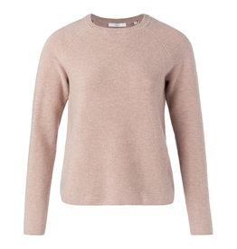 Yaya Yaya Mix Rib Roundneck Sweater