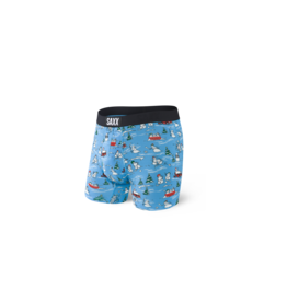 Saxx Saxx Vibe Boxer Brief - Blue Pucking Awesome