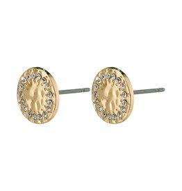 Pilgrim Pilgrim Compassion Earrings Gold Plated Crystal