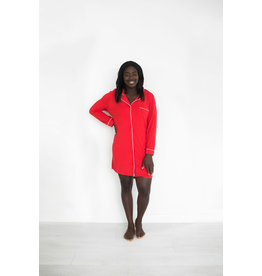 Riot Theory Riot Theory Elliot Nightshirt - Red