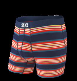 Saxx Saxx Ultra Boxer Brief Fly - Navy Banner Stripe