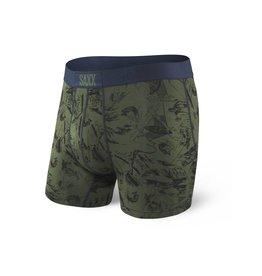 Saxx Saxx Vibe Boxer Brief - Green Fisherman
