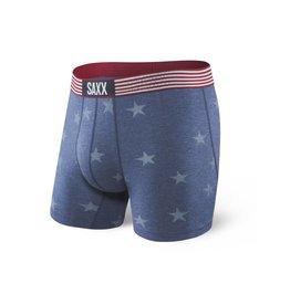 Saxx Saxx Vibe Boxer Brief - Chambray Americana