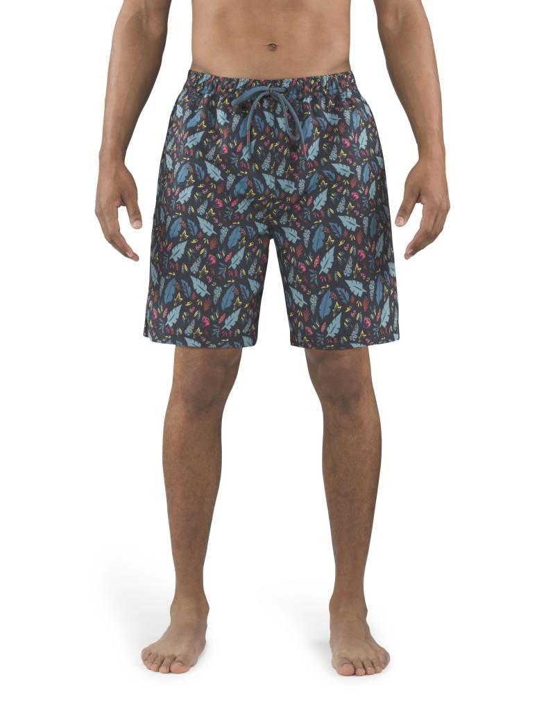 Saxx Saxx Cannonball 2N1 Long Swim Short - Pop Flora