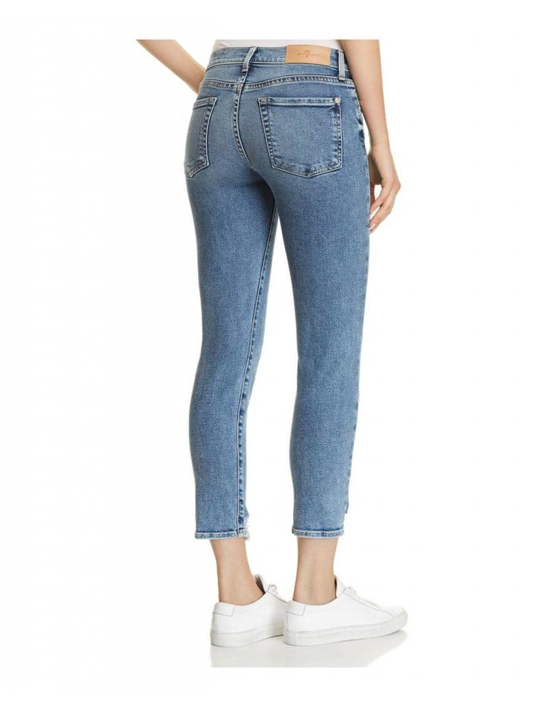 7 For All Mankind 7 For All Mankind Roxanne Ankle Destroyed Hem
