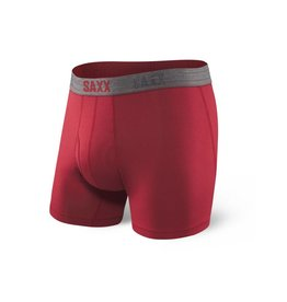 Saxx Saxx Platinum Boxer Brief Fly - Deep Red