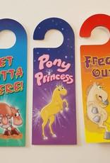 Door Hanger Pony Princess