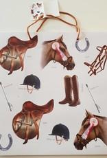 Equestrian Gift Bag Large