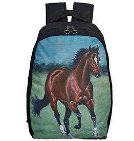 Knapsack 'Lila' Bay Horse Print Backpack