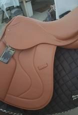 "GP Synthetic Saddle - Colour London - 17"" Narrow/Medium Gullet"