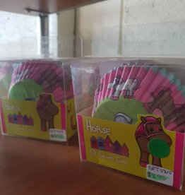 Horse Party Cup Cake Cases