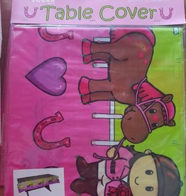 Horse Party Table Cover