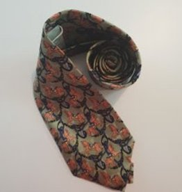 Tie Dublin Horse and Stirrup s - Olive