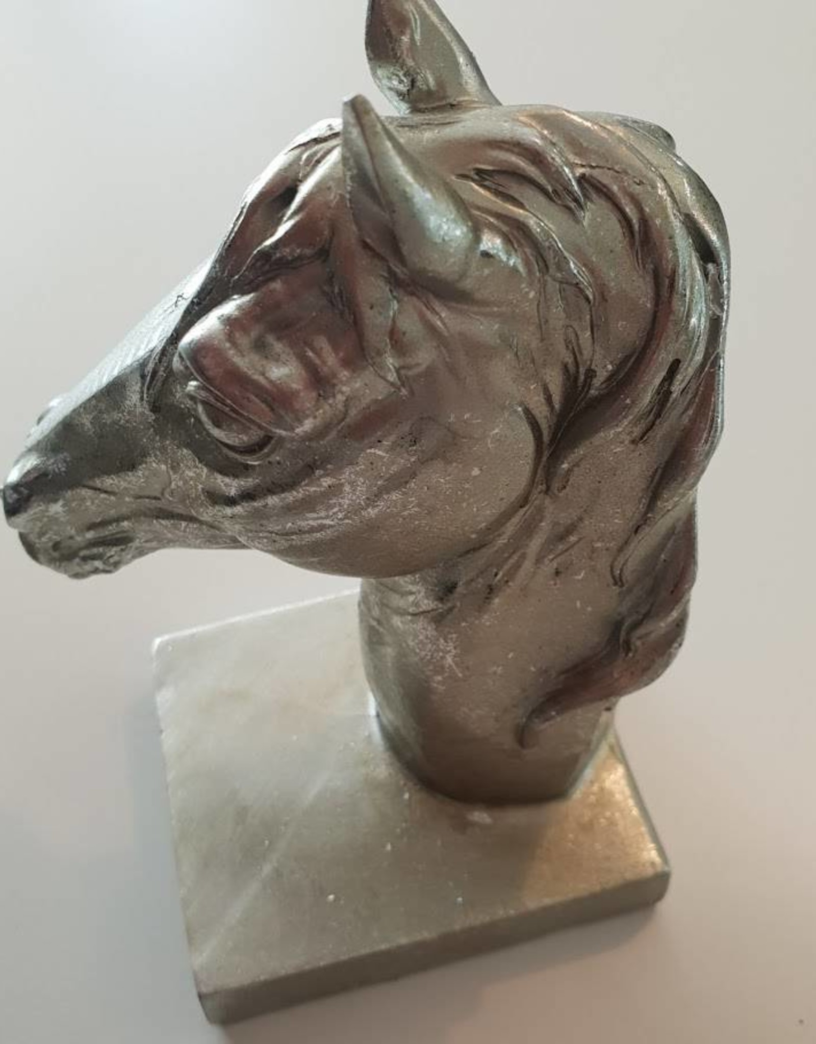 BookEnds Horse Head - Silver