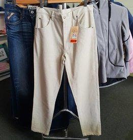 McAlister Moleskin Creme Men's Jean Size 33 4093MS