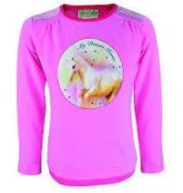 Thomas Cook Thomas Cook Girls My Dream Horse Long Sleeve - Soft Pink - Size 12