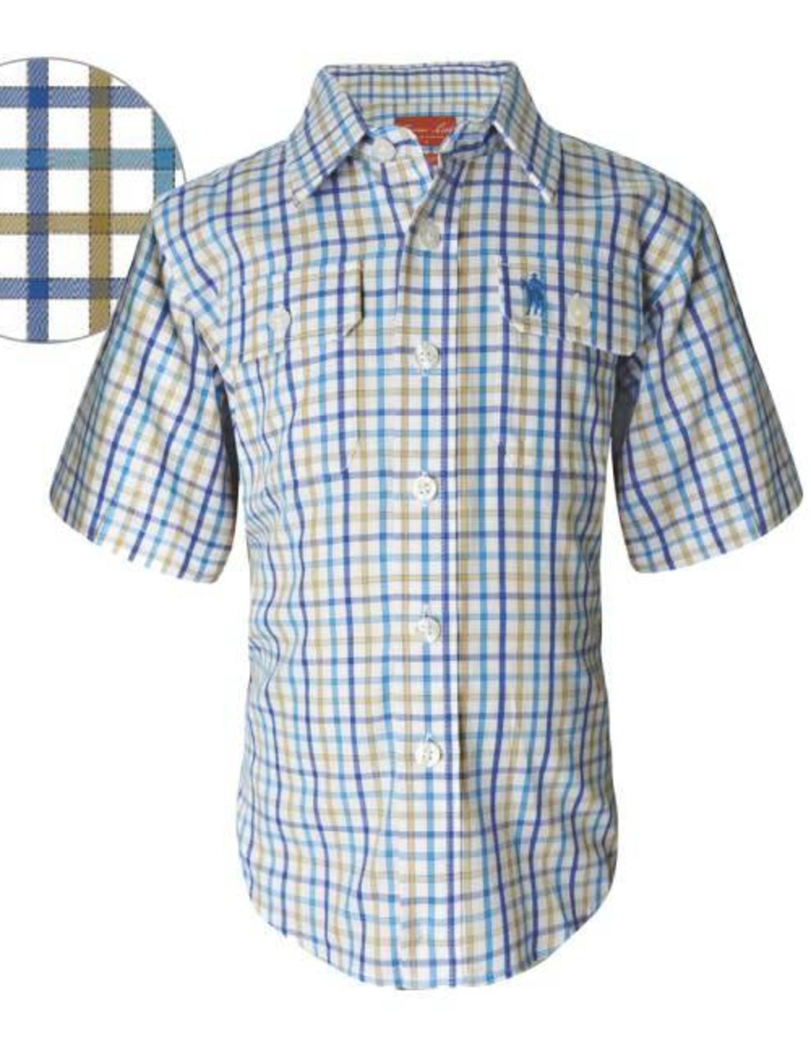 Thomas Cook Thomas Cook Boys Herbarton Check Shirt Size 12