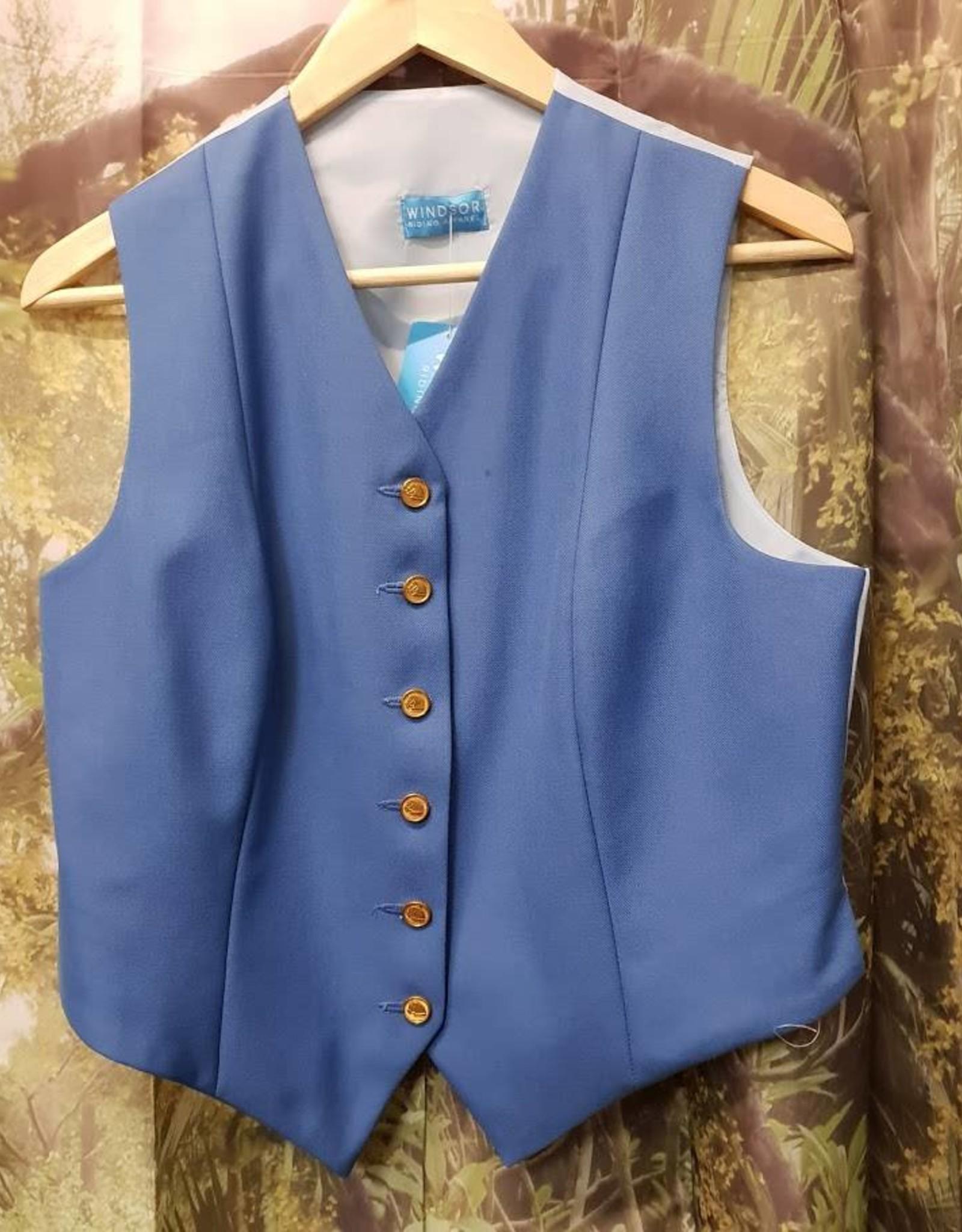 Windsor Apparel Ladies Vest - Cornflower Blue - Size 16