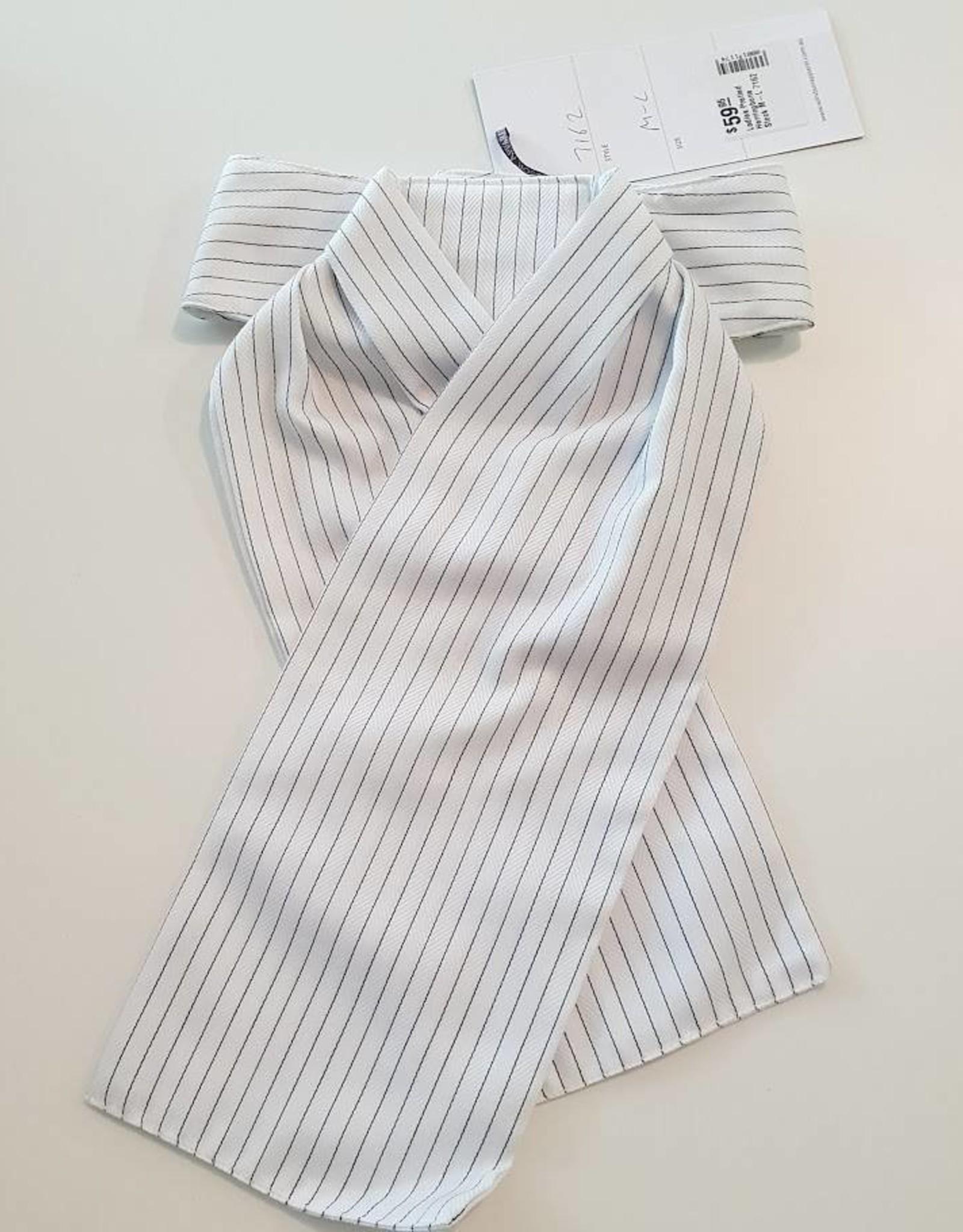 Windsor Apparel Ladies Pretied Herringbone Stock M-L
