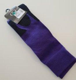 Lafitte Riding Sock Purple/Black Size 2-8 HHPUR