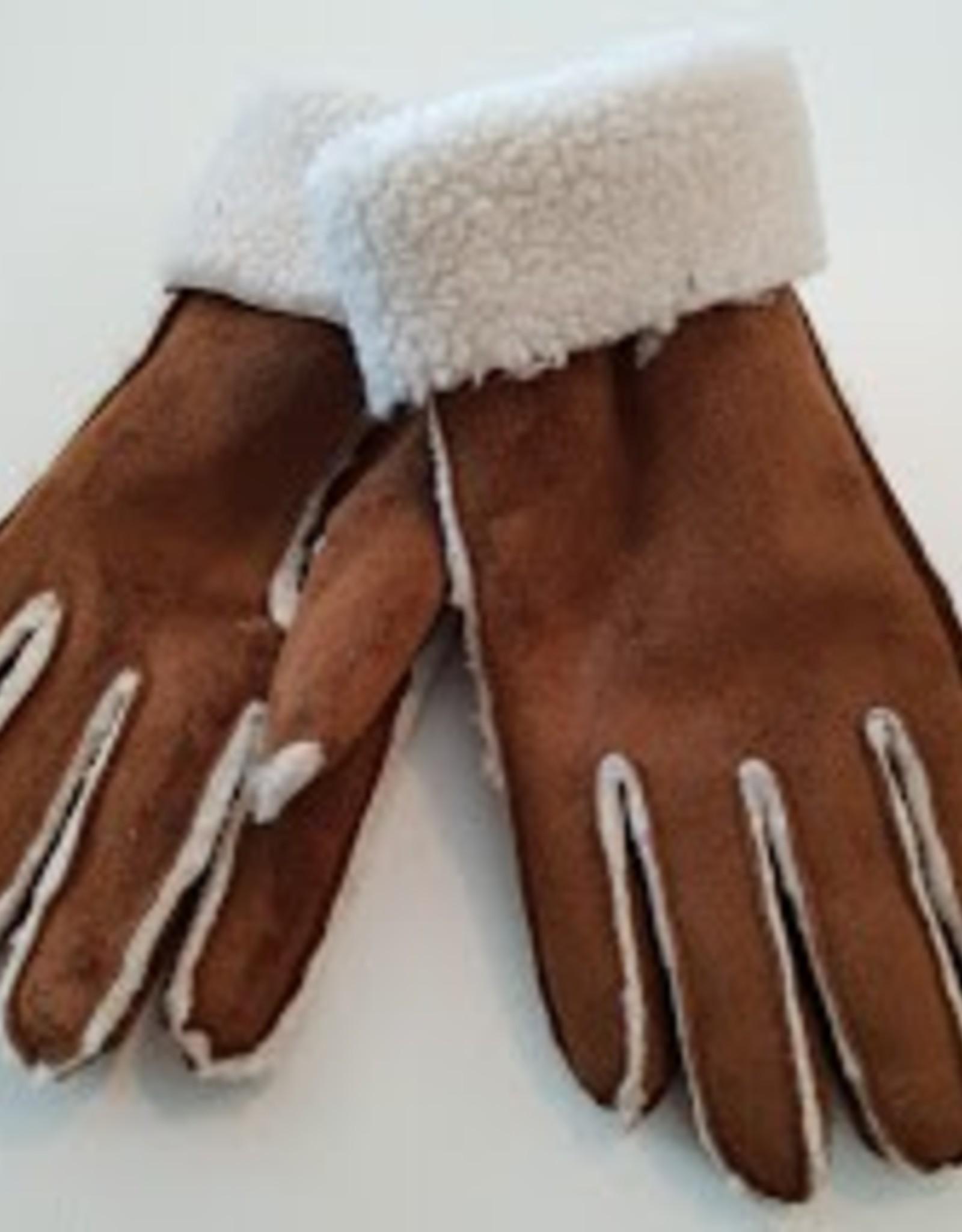 Gloves Sherpa - Medium - Brown