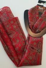 Yijan Scarfe Indigenous Print Red