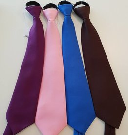 Show Tie Microfibre Zip - Royal Blue