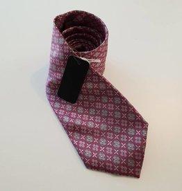 Louis Vuitton Crav Rayures Gris Clair Tie - Rose Flower