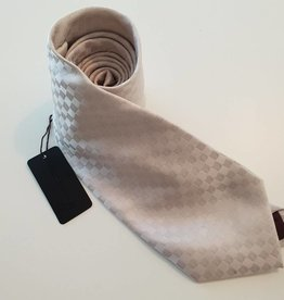 Louis Vuitton Crav Rayures Gris Clair Tie -  Cream