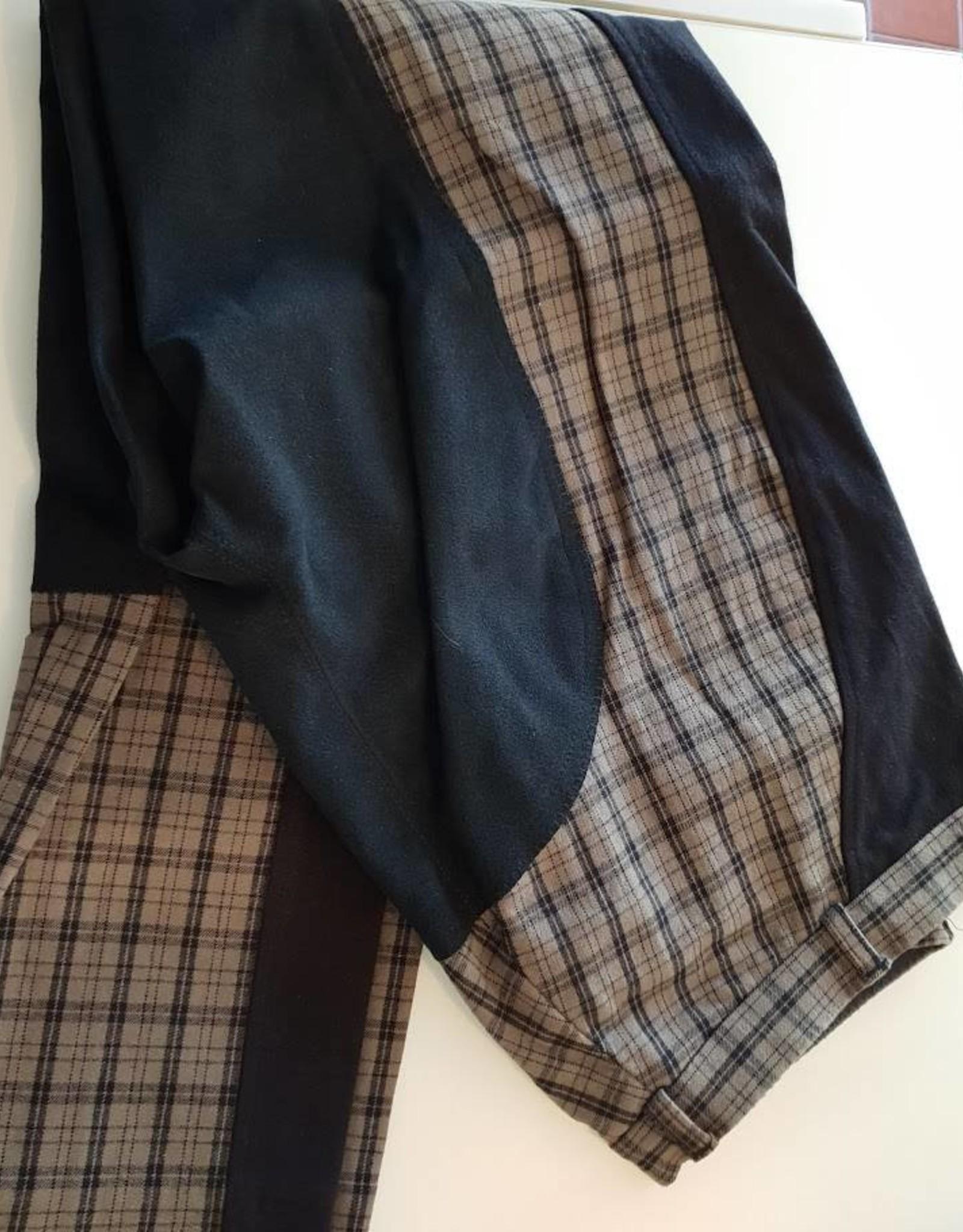 Thomas Cook Thomas Cook Splice Check Jodhpur - Brown/Black - Size16