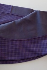Windsor Jodhpur - Purple White/Maroon Stripe Check - Size 14