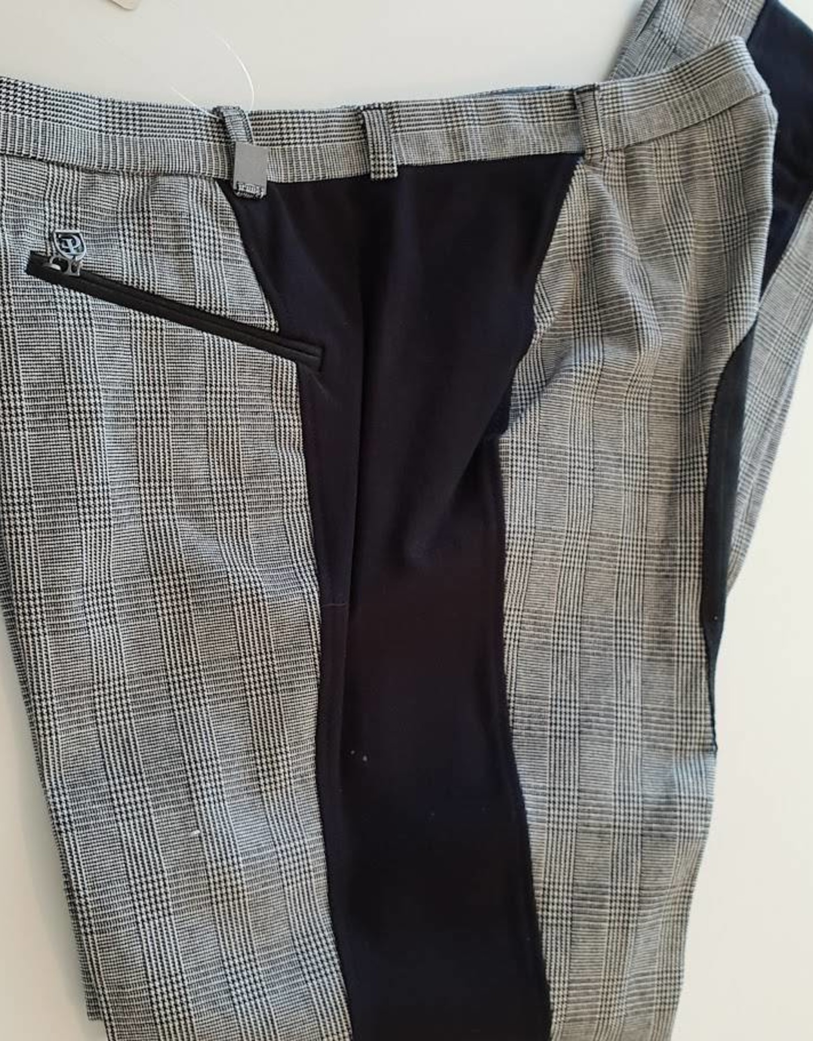 Thomas Cook Thomas Cook Side Splice Jodhpur - Black/Grey - Size 14