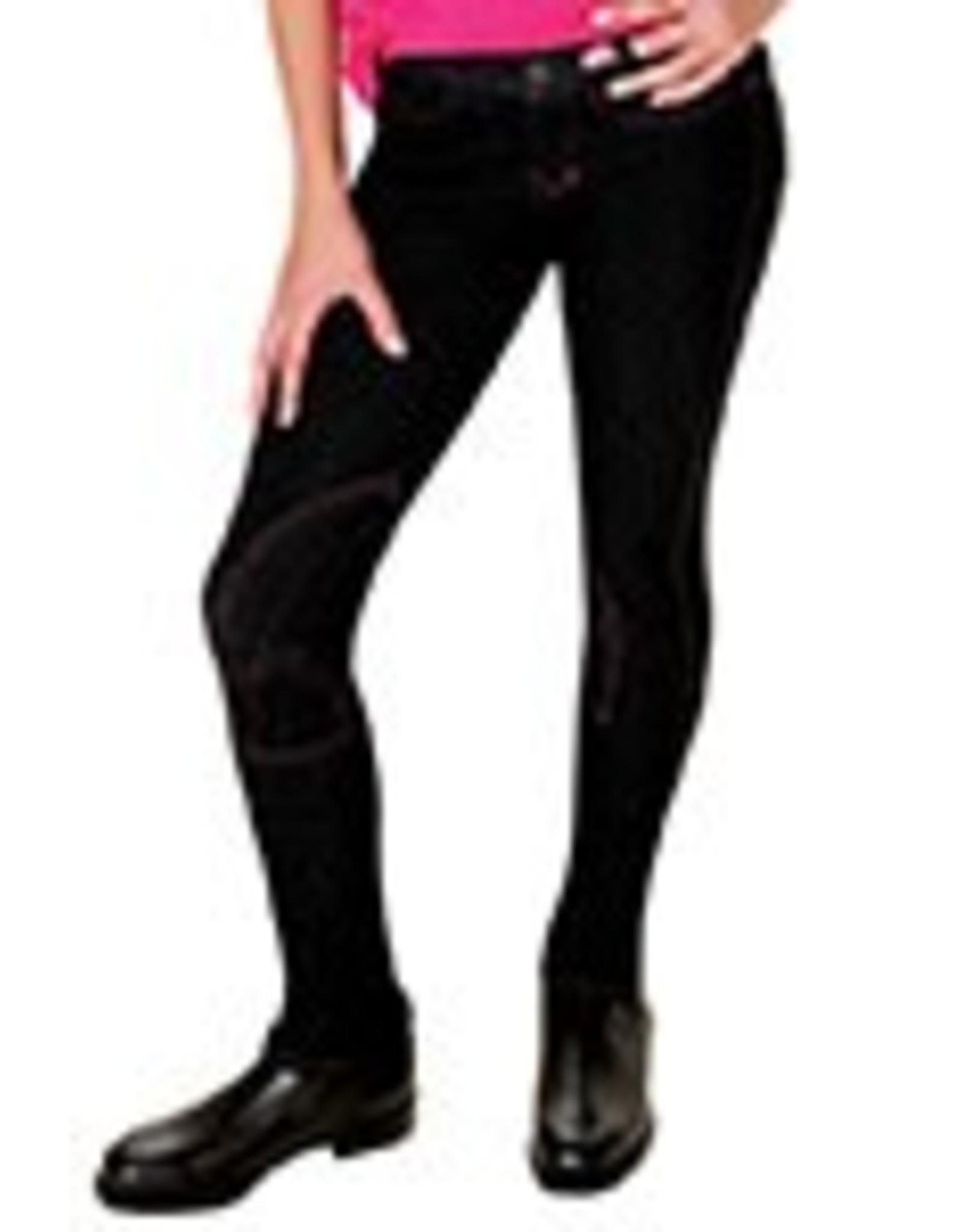 Lyndi J Hipster Jodhpur - Black Denim - Size 14