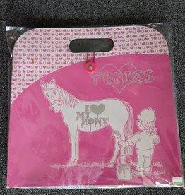 Accordian File Love Ponies