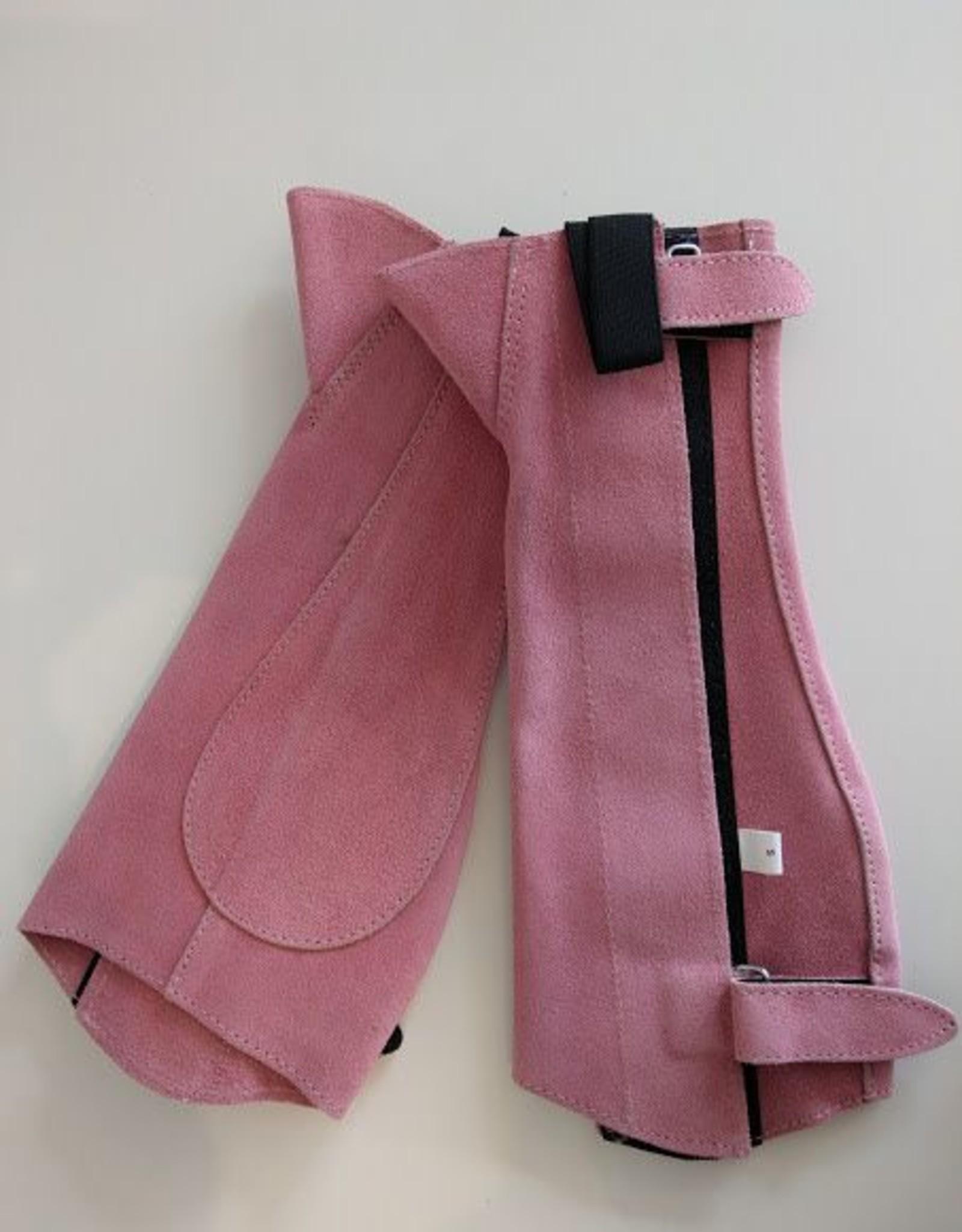 Eureka Suede Chapettes - Pink - Small Kids