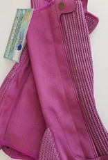 ShowCraft Elastic Rib - Chappette - Adult Small - Purple