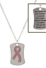 Montana Silversmiths Necklace Pink Ribbon