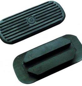 Rubber Treads - Black - 10.5cm