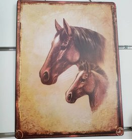 Metal Picture Hangings Horse and Pony