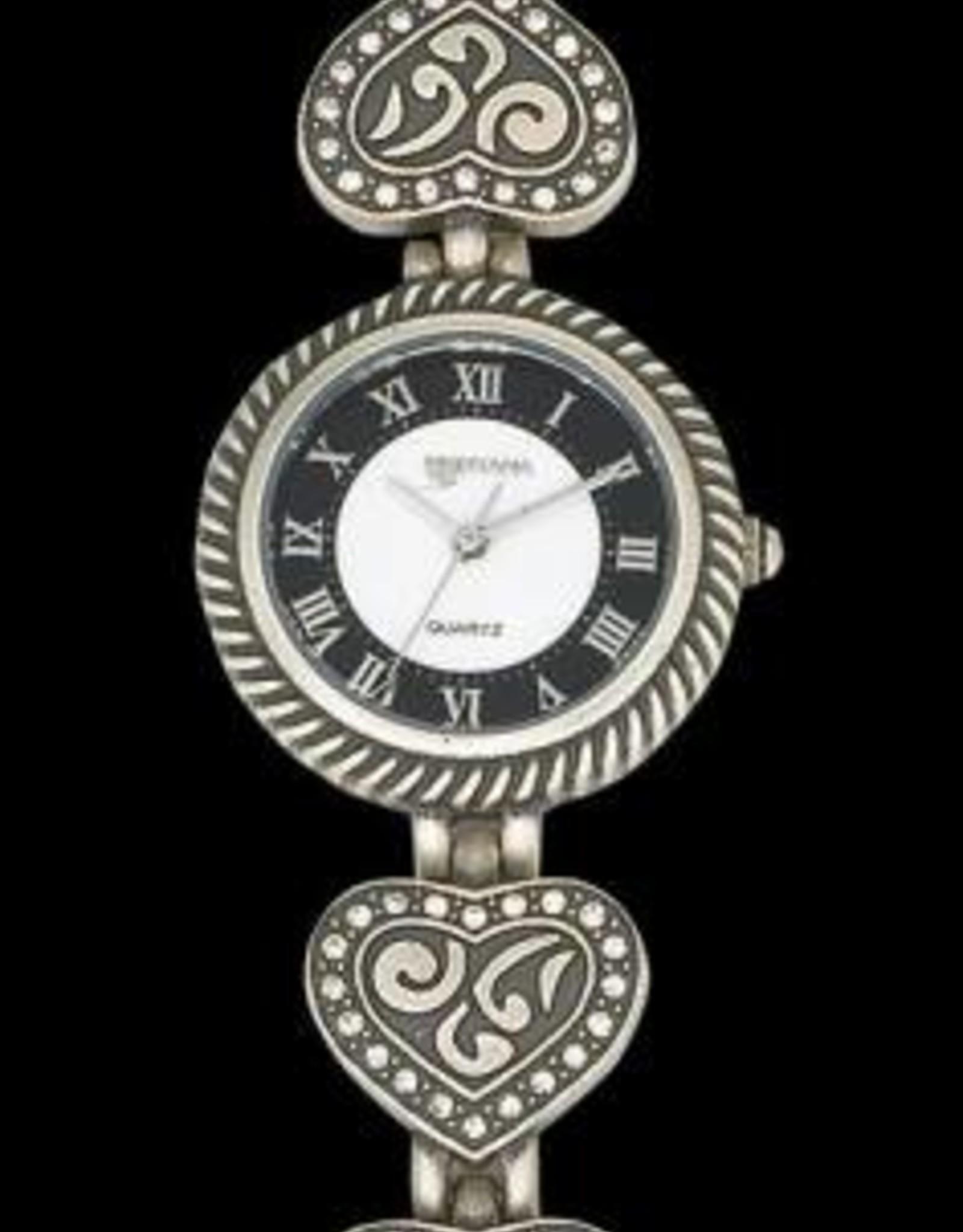 Montana Silversmiths Ladies CZ Filigree Watch