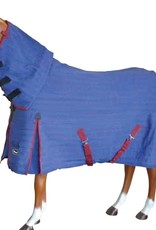 """Showcraft Ripstop Combo Blue with Teal/Black Trim Horse Rug 5'3""""  7096RU53"""