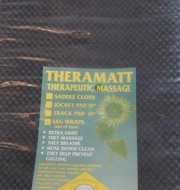 Theramatt Leg Wraps - Set 4 - Black