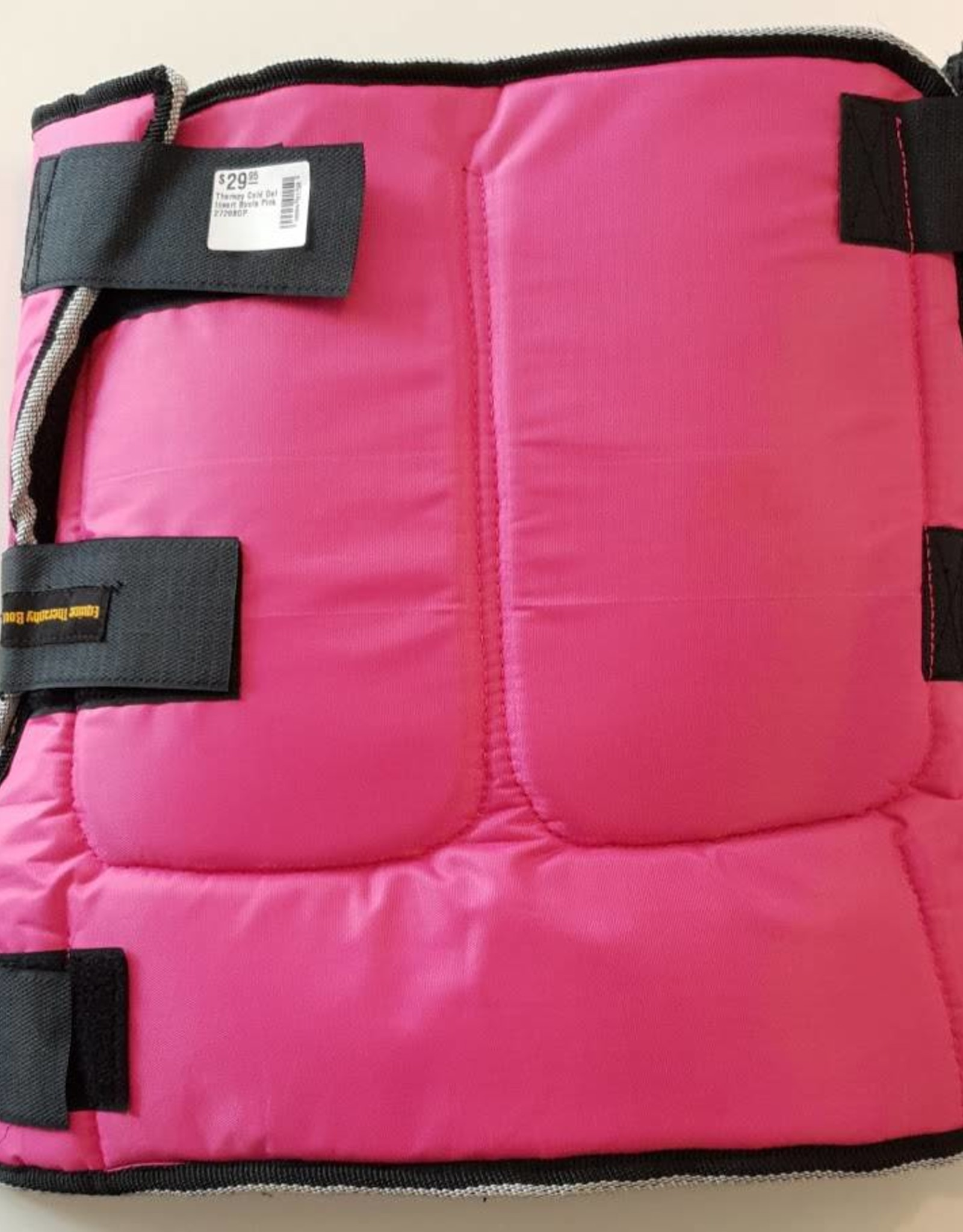 Equine Therapy Cold Gel Insert Boots - Pink