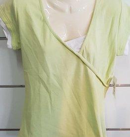 Thomas Cook Thomas Cook Ladies Plain Rib 2 layer - Soft Green/White - Size 12
