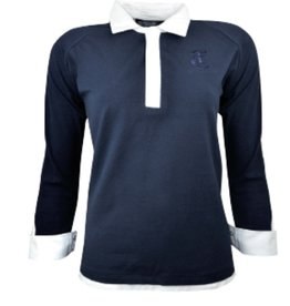 Thomas Cook Thomas Cook Womens Renee Shirt Long Sleeve - Navy - Size 14