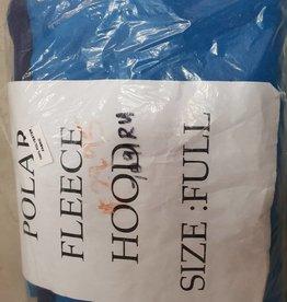Polar Fleece Hood - Full - Blue