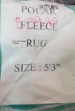 """Polar Fleece Rug - Jade - 5'3"""""""