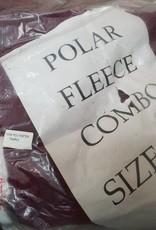 "Polar Fleece Combo - Crimson -  5'9"""