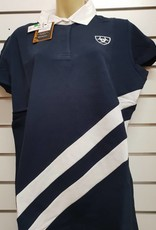 Ariat Ariat Women's Brittany Polo Top - Navy - Size XX-Large